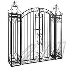 Decorative Metal Garden Wire Fence Wrought Iron Vinyl PVC Powder