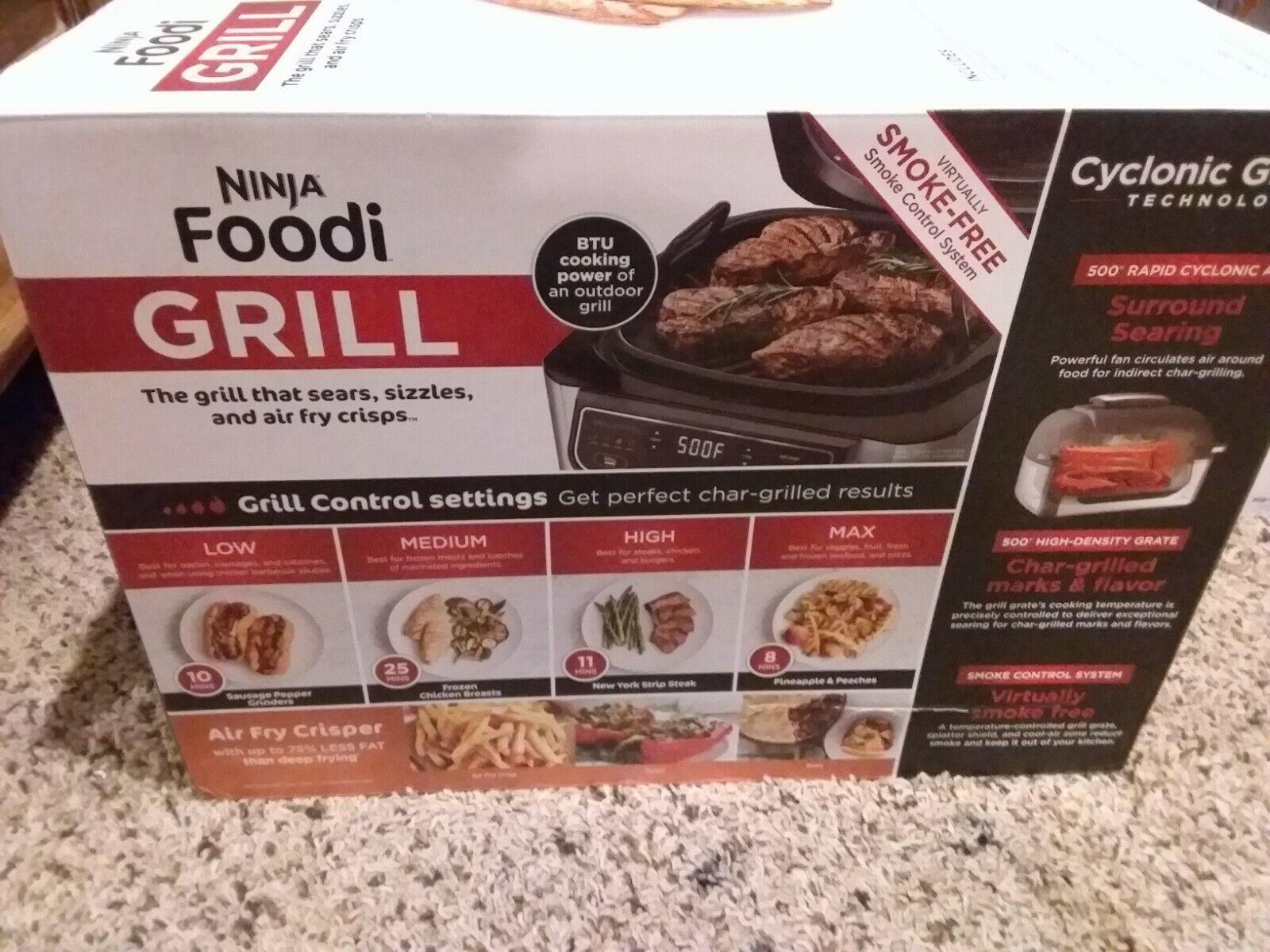 Ninja AG300 Foodi 4-in-1 Indoor Grill with 4 Quart Air Fryer