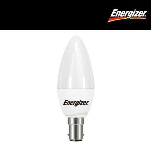 S8878 Extra Warm White Energizer LED Opal Candle 5.9w SBC//B15 2700K