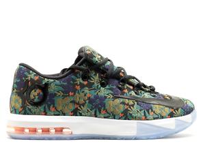 Nike KD 6 VI EXT Floral QS Size 8.5. 652120-900 Jordan BHM What The