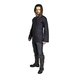 Adult-Men-039-s-Star-Wars-Sith-Darth-Maul-Anakin-Cosplay-Costume-Tunic-Shirt-Belt