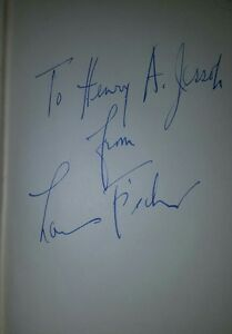 A-Week-With-Gandhi-by-Louis-Fischer-First-Edition-1942-Signed-by-Author