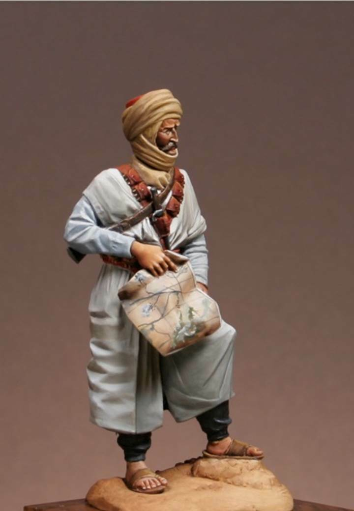 Atelier Maket French Foreign Legion FFL Mehariste 75mm Model Unpainted kit