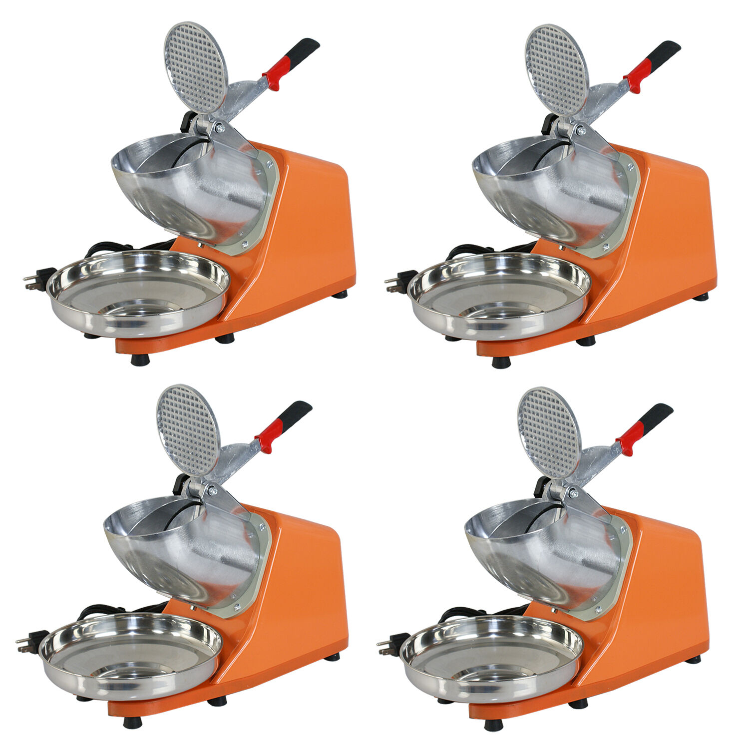 4X Commercial Ice Shaver 300W Electric Snow Cone Crusher Maker Machine 143lbs