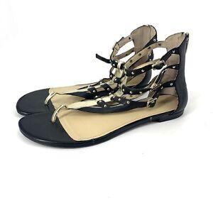 Enzo-Angiolini-Tobyn-Women-Gladiator-Strap-Flip-Flop-Sandals-Sz-11M
