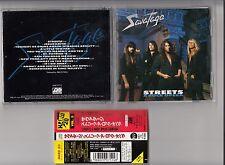 SAVATAGE - STREETS A ROCK OPERA CD 1994 JAPAN OBI AMCY-712 ATLANTIC RARE
