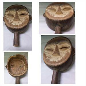 Antike-Maske-Gabun-Afrika-Holzfigur-Holzmaske-wood-mask-masque-en-bois