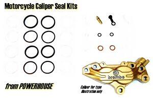 Ducati Supersport 750 SS 750SS 1995 1996 95 Brembo front brake caliper seal kit