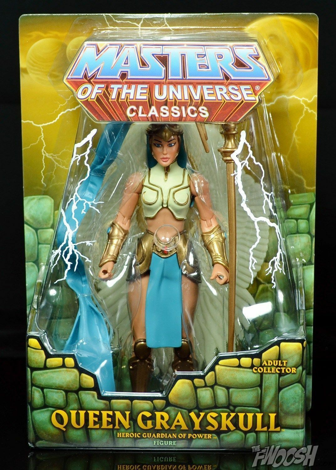 MOTU Classics Queen grauskull  Figure NEW Ship Worldwide  SHIP