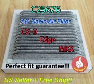 C25876 Carbonized Cabin Air Filter 2007 2014 Mazda Cx 9