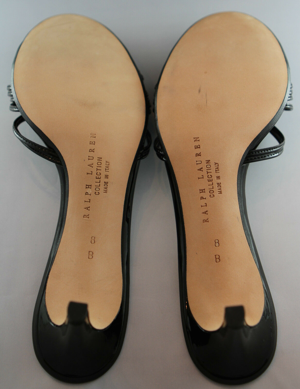 Nouveau Nouveau Nouveau  450 RALPH LAUREN collection Sz 8 Lanières diapositives Sandales 7bf369