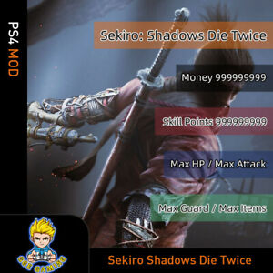 Sekiro-Shadows-Die-Twice-PS4-Mod-Max-Money-Skill-Points-Items