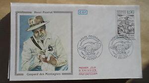 FDC-Enveloppe-Premier-Jour-CEF-Henri-Pourrat-09-05-1987-Ambert