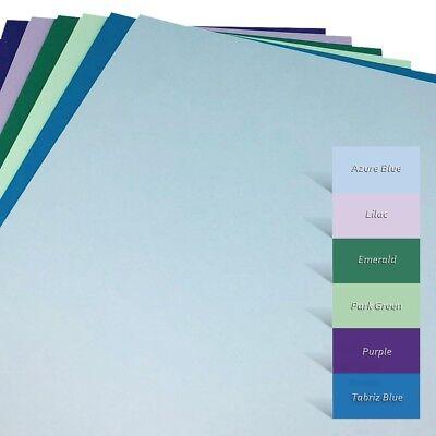 270 g//m² ~ Bastel-Tonkarton 6 Farben Bastelkarton ~ #7002 Kartonset A4 48-tlg.