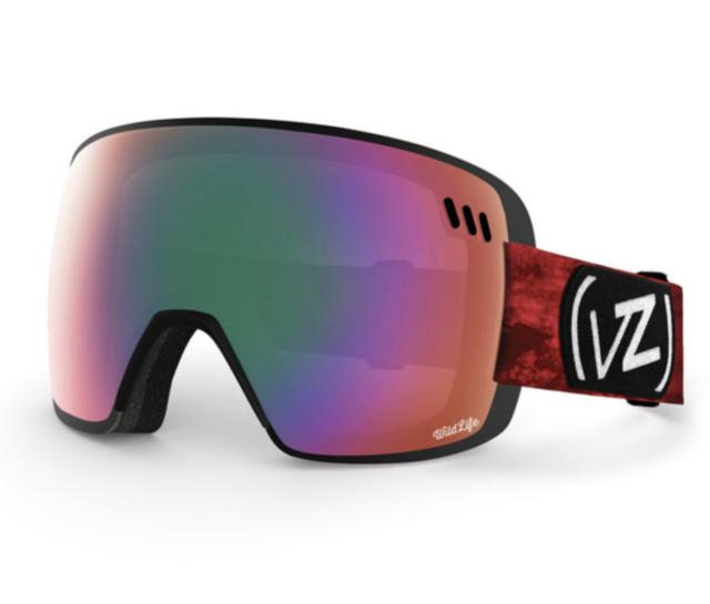0640acc181 NEW VonZipper Alt XM Goggles-NIW El Ninos-Wildlife Chrome-SAME DAY SHIPPING