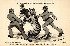 Cpa Aventures D'une Tigresse A Marseille 6 Allons! (403593) 0qzyljv7-07215445-803572937