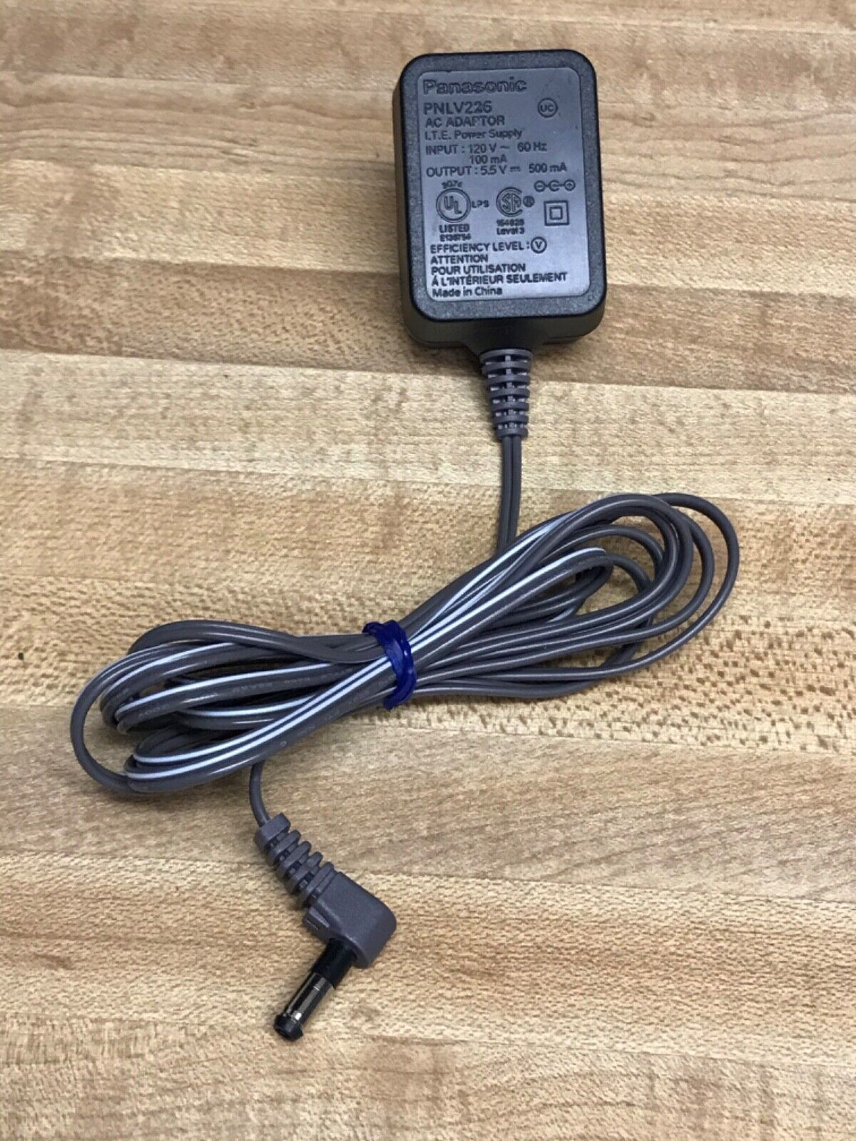 AC Power Supply Adapter Cord Compatible with Panasonic BL-VT164 E BL-VT164W P Network Camera 5/Feet,/with/LED/Indicator