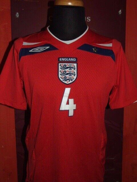 GERRARD ENGLAND 2009 MAGLIA SHIRT CALCIO FOOTBALL MAILLOT JERSEY SOCCER