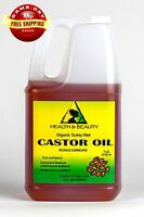 Castor Oil Turkey Red Organic Cold Pressed By H&b Oils Center Hexane Free 7 Lb