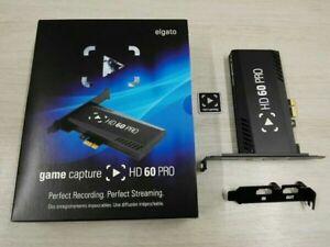 Dettagli su ELGATO HD60 PRO * 1080P60 * H 264 * Wii U * XBOX * PLAYSTATION  * PC * 1080p * HD- mostra il titolo originale