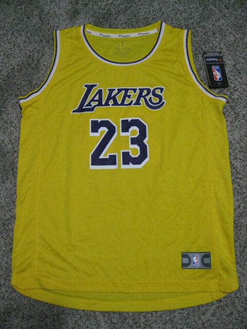 Fanatics Lakers Lebron James Basketball Jersey Youth XL for sale ...