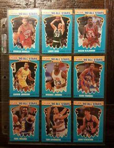 1990-FLEER-039-90-ALL-STARS-COMPLETE-CARD-SET-1-12