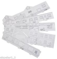 Faller 150300 BASIC Bemalvarianten Set 1, 5 Stück, Gebäude Bausatz 1:87