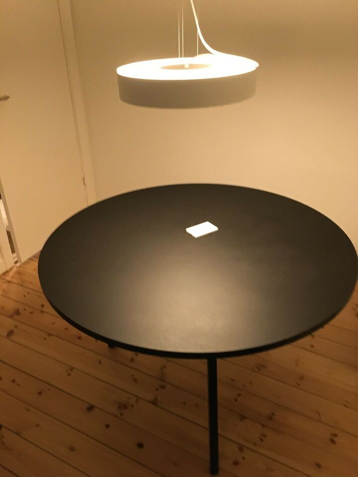 Spisebord, Loop Stand Round Table, Hay