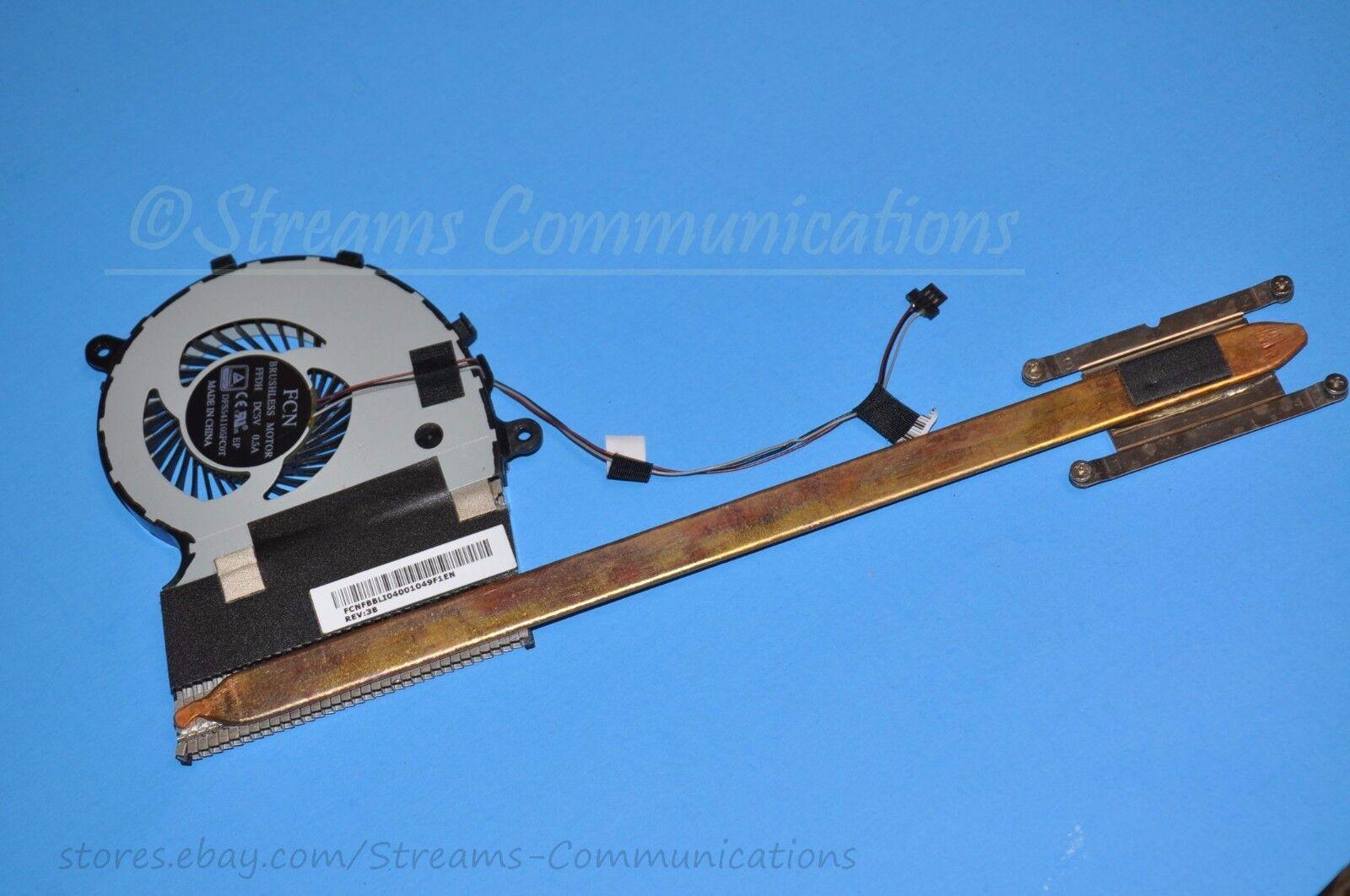 TOSHIBA Satellite S55T-B5136 Laptop CPU Cooling FAN + Heatsink