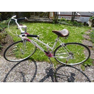 """Milanetti Damen-Rennrad, Vintage, RH 51, weiß, auf """"zivile"""" Nutzung umgerüstet"""