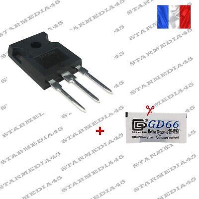 transistor IRFP064N réparation module résistance de chauffage Peugeot 1007