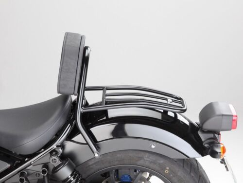 Fehling Honda CMX 500 Rebel Fahrer Sissy Bar m Kissen u Gepäck