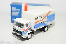 LION CAR LION TOYS DAF 2000 TRUCK DAKAR RALLY MIGHTY MAC EXCELLENT BOXED