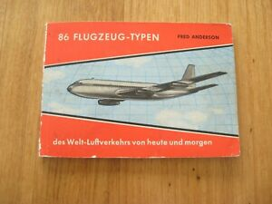 altes-Heft-86-Flugzeug-Typen-des-Welt-Luftverkehrs-von-heute-und-morgen-von-1957
