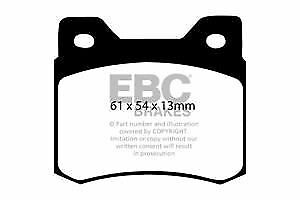 W201 DP464 EBC Ultimax Rear Brake Pads fit MERCEDES 190//190E