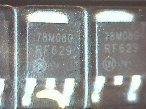 10x mc78m08cdt V-reg +8v 500ma SMD SMT dpak - 3