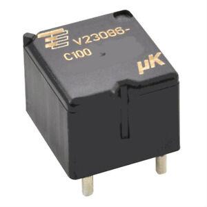 2-pcs-V23086-C1002-A403-TE-Relais-10VDC-25A-181R-SPST-NO-KFZ-Automotiv-BP