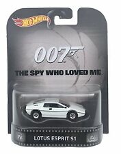 HOT WHEELS 1:64 Retro Entertainment Lotus Espirit - James Bond Spy Who Loved Me