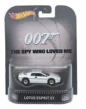 HOT WHEELS 1/64 Retro Entertainment Lotus Esprit S1 James Bond 007 Diecast Car