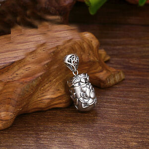 925-Sterling-Silver-Memorial-Cremation-Pendant-Keepsake-Urn-charm-Ash