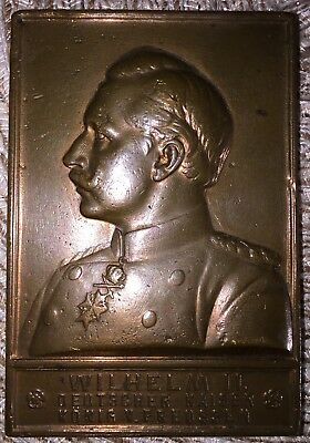 Konferenz Der Interparlamentarischen Union Bronze 1908 Wilhelm Ii Adaptable 15 Top Watermelons