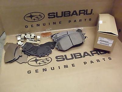 26696AG010 Genuine OEM Subaru Legacy GT and Outback XT Rear Brake Pad Set 2005