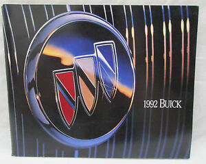 Details About Vintage 1992 Riviera Regal Lesabre Park Avenue Skylark Etc Buick Color Brochure