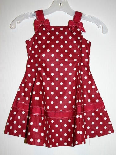 Details about  /Gymboree CHERRY PIE Cherries Red Polka Dot Twirl Dress NWT 6  So adorable!