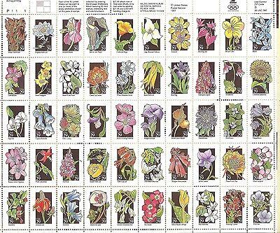 US Scott # 2647-96 29c WILDFLOWERS MNH Singles