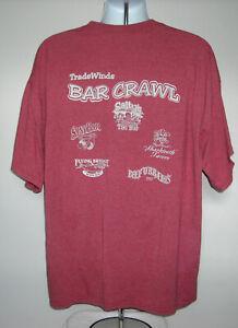 Mens Tradewinds Bar Crawl On St Pete Beach Florida T Shirt