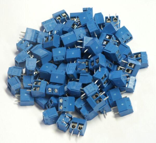 Affidabile 100 Printklemmen, Terminali Di Collegamento Pcb Morsetto, 2 Poli-en Leiterplattenklemme, 2 Polig