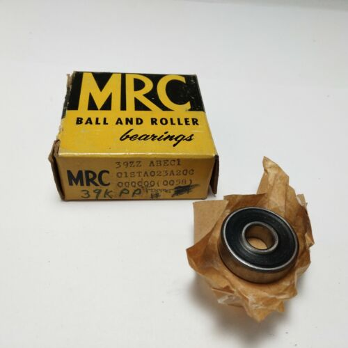 MRC 39ZZ Roller Bearing Both Sides Rubber Seal 9x26x8mm-New