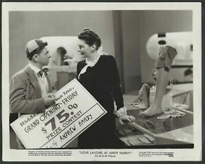 Amor-Laughs-At-Andy-Hardy-Mickey-Rooney-1940s-Original-Mgm-Foto