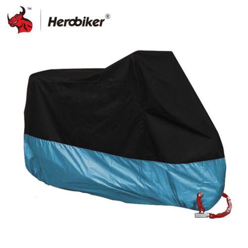 HEROBIKER Motorcycle Cover Bike All Season Waterproof Dustproof UV Protective
